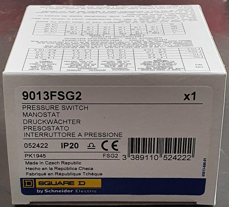 PRESSOSTATO FSG-2 2161101