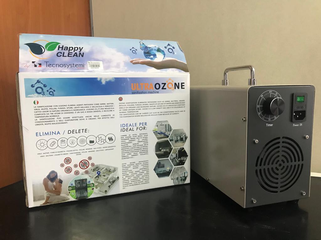 TECNOSYS GENERATORE DI OZONO 15GR H B.CO SCC600037